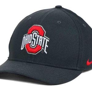 Ohio State Buckeyes SWOOSH Graphite S/M Cap